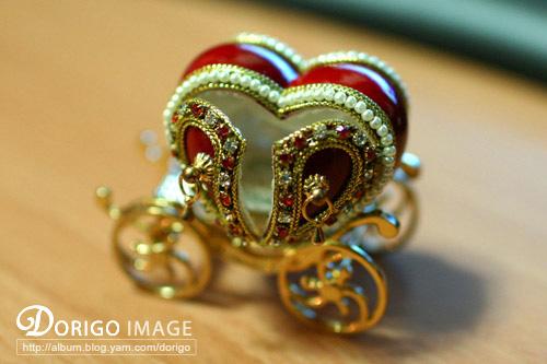 蛋雕珠寶盒