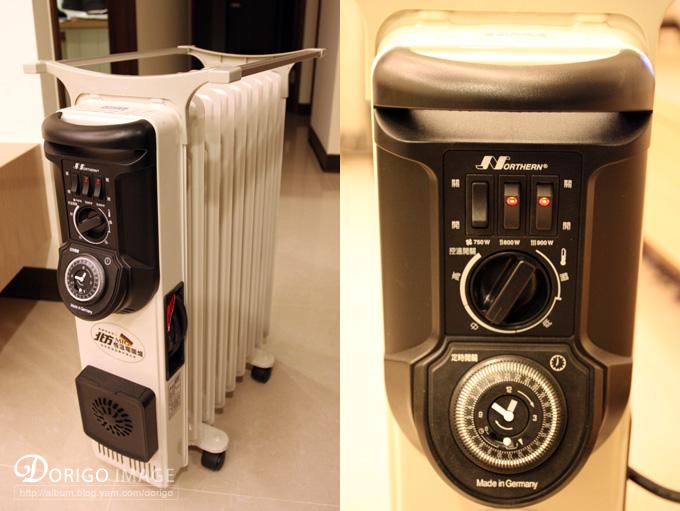 北方葉片式電暖爐 Hot到家