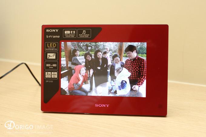 SONY DPF-D720 數位相框